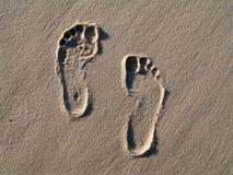 Empreinte de pas photos libres de droits