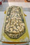 Empreinte de pas de Bouddha Image stock