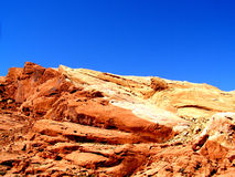 Empreinte digitale de désert Photo stock