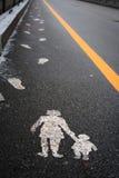 Empreintes de pas Photo libre de droits