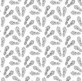 Empreintes de pas de modèle sans couture de chaussures Traces de fond sans fin de chaussures Chausse la texture répétitive Vecteu Photos stock