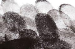 Empreintes digitales Photographie stock libre de droits