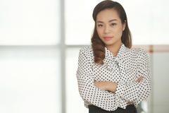 Empresário bonito Fotografia de Stock