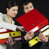 Empresários Imagem de Stock