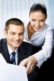 Empresários Fotografia de Stock Royalty Free
