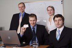Empresários Fotografia de Stock