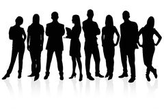 Empresários Foto de Stock Royalty Free