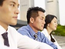 Empresários asiáticos Foto de Stock