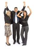Empresários bem sucedidos foto de stock