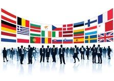 Empresários europeus Fotografia de Stock