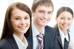 Empresários novos Fotografia de Stock