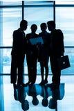 Empresários recolhidos Imagens de Stock Royalty Free