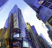 Empresa de contabilidad grande de Nueva York Manhattan imagen de archivo libre de regalías