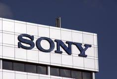 Empresa de eletrônica de Sony Corporation imagem de stock royalty free