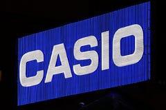 Empresa de eletrônica japonesa Japão de Casio imagens de stock royalty free