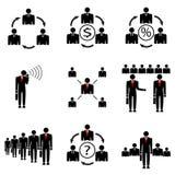Empresa de gestão empresarial. Imagem de Stock Royalty Free