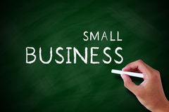 Empresa de pequeno porte Imagens de Stock Royalty Free
