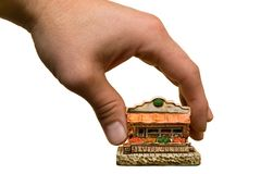 Empresa de pequeno porte Fotografia de Stock
