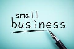 Empresa de pequeno porte Imagem de Stock