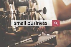 A empresa de pequeno porte começa acima o conceito local do negócio da posse imagens de stock royalty free