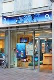 Empresa de telefone celular O2 Imagem de Stock Royalty Free