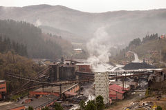 Empresa do mineiro em Turquia Imagens de Stock Royalty Free