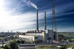 Empresa industrial Fotografia de Stock