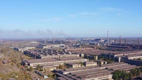 Empresa industrial Contaminación ambiental almacen de metraje de vídeo