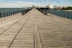Empresa Rio Tinto do minério da doca Huelva spain Imagens de Stock