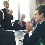 Empresa Team Achievement Success Concept Fotos de Stock