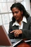 Empresaria Foto de archivo libre de regalías
