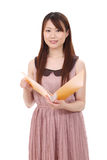 Empresaria asiática joven Foto de archivo
