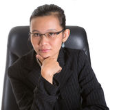 Empresaria asiática VI Fotos de archivo