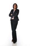 Empresaria del afroamericano imagen de archivo libre de regalías