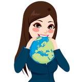 Empresaria Eating World libre illustration