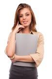 Empresaria joven Imagen de archivo