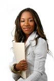 Empresaria joven Foto de archivo