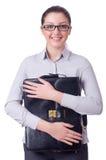 Empresaria joven Foto de archivo libre de regalías