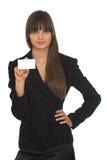 Empresaria joven Imagen de archivo libre de regalías