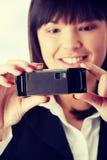 Empresaria joven Fotos de archivo libres de regalías