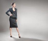 Empresaria joven elegante Imagen de archivo libre de regalías