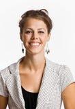 Empresaria sonriente Imágenes de archivo libres de regalías