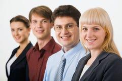 Empresarios de asunto Fotografía de archivo libre de regalías