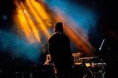 Empress Of band in concert at Primavera Club 2015 Festival Stock Images