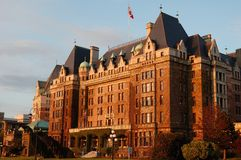 Empress hotel. The historic empress hotel in victoria, british columbia, canada Royalty Free Stock Photography