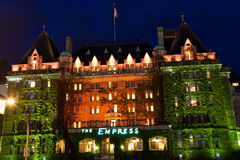 Empress Hotel. The Empress Hotel in Victoria - a common landmark for tourists in British Columbia's capital city Stock Photo