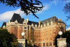 Empress hotel Stock Photography