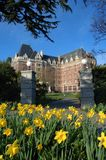 The empress hotel Royalty Free Stock Images