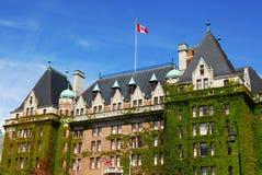 Empress hotel. The historic empress hotel in victoria, british columbia, canada Stock Image