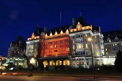 empress hotel night scene Στοκ Εικόνες